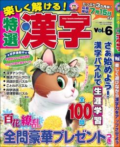 楽しく解ける!特選漢字Vol.6